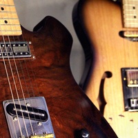 Moniker Guitars Texas BBQ Party December 2014 - Guitars Detail