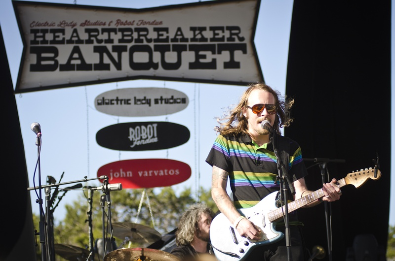 Bands play Heartbreaker Banquet at Nelson's Luck, Texas