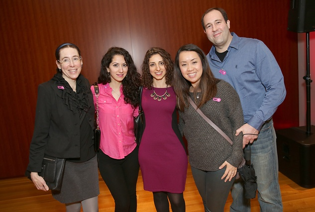 48 Megan Elaine Doherty, from left, Batool Alsheikh, Huda Alsheikh and Thu and Austin Doherty at the Asia Society Texas Center Kobe beef Cook-off December 2014