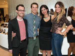015_Fashion's Night Out, September 2012, Sean Antley, Eric Widaski, Natalie Eguia, Paige Thurbert