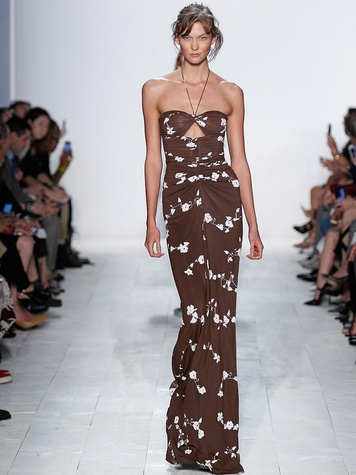 Fashion Week spring summer 2014 Michael Kors Look 55