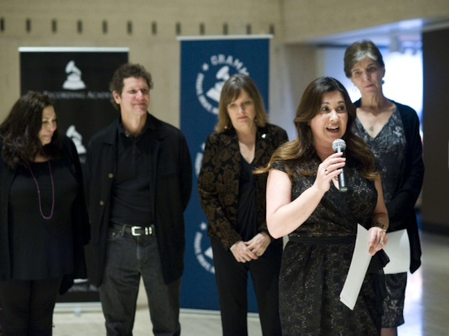 Recording Academy Texas The Soundtrack to Change Event Marcia Ball Susan Antone Taylor Hanson of the band Hanson Theresa Jenkins Christine Albert Sasha Haagensen