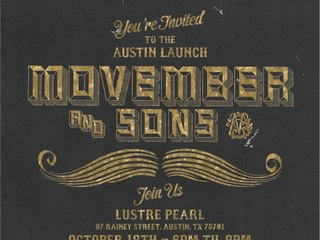 Austin Photo_Events_Movember Kick-off_Poster