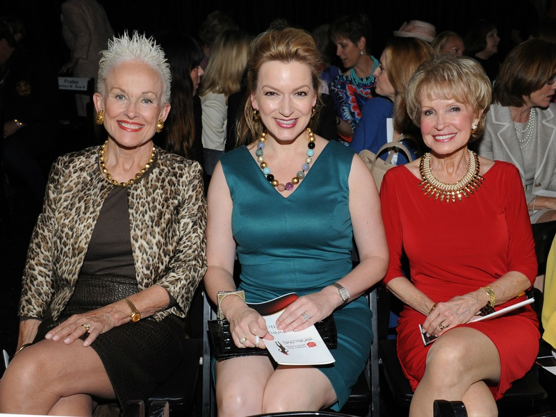 Barbara Daseke, Kate Rose Marquez, Kay Hammond, Salvation Army Luncheon