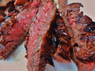 skirt steak fajitas with marinade