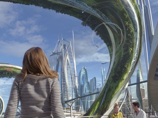 Britt Robertson in Tomorrowland