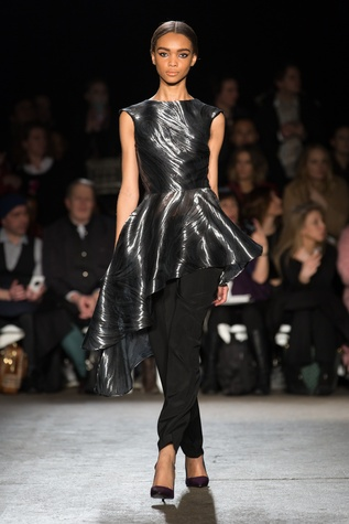 Christian Siriano fall collection look 30