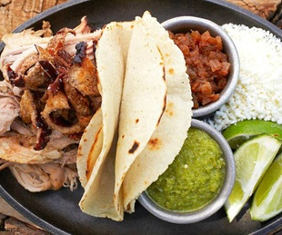 Tacos at Woodshed Smokehouse in Fort Worth