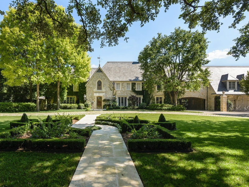 Slideshow inside the most expensive house for sale in for Most expensive house in dallas