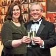 Barbara and Pat McCelvey at the Houston Symphony Wine Dinner March 2014