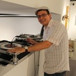 Alex Larotta at the Lawndale Big Show preview party July 2014
