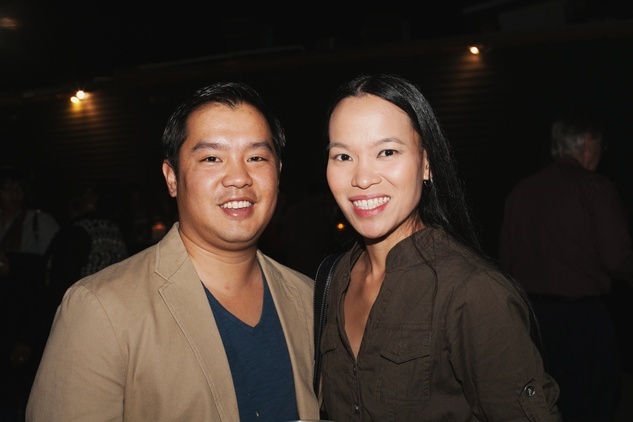 38 Robert Chen and Jodie Gee at the Urban Harvest 10th anniversary dinner November 2014