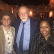 Corbett Parker, Bill Sadler and Mary Benton at Arturo's