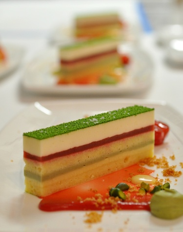 Common Bond pistachio cake